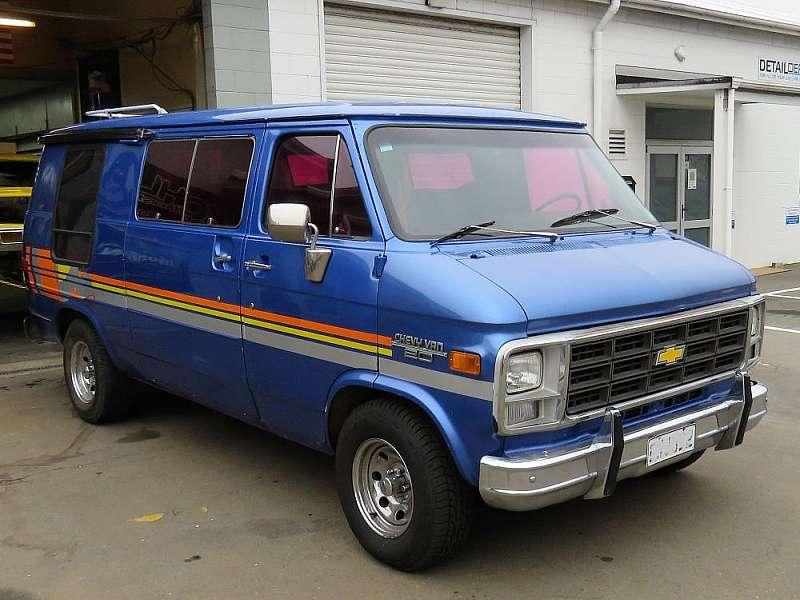 79 C20 Chevrolet Van