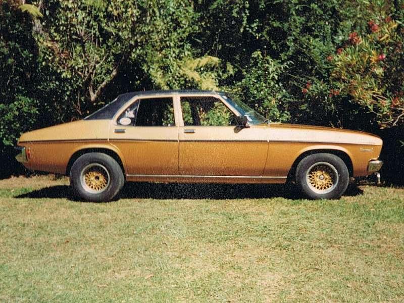 1970 HQ Holden.
